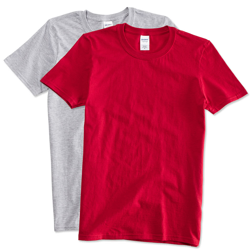 Custom canada gildan softstyle jersey t shirt design t for Soft custom t shirts