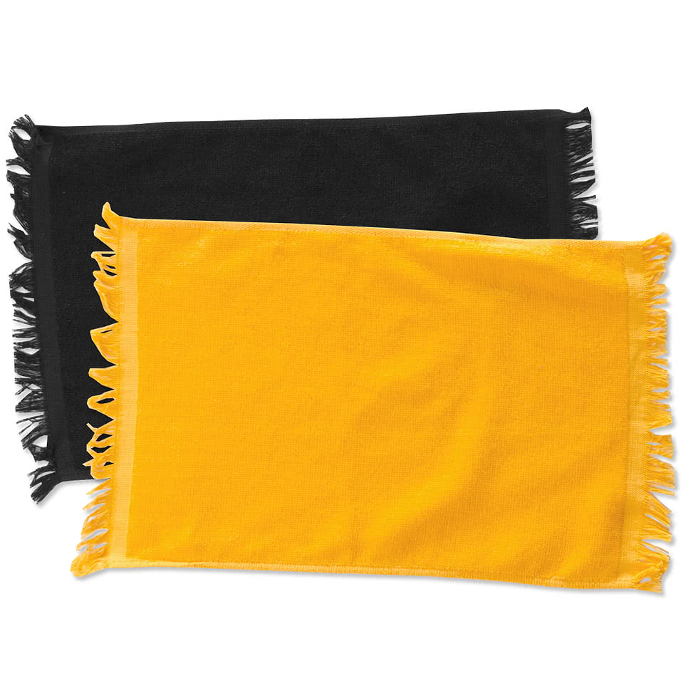 Personalized Spirit Towels: Design Custom Printed Anvil Fringed Rally Towels Online At