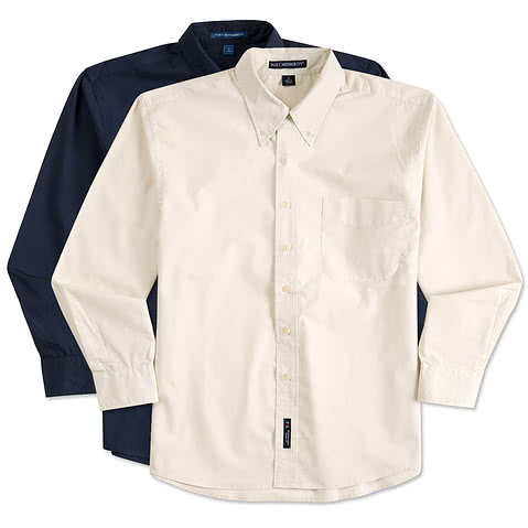 Port Authority Stain Resistant Long Sleeve Shirt