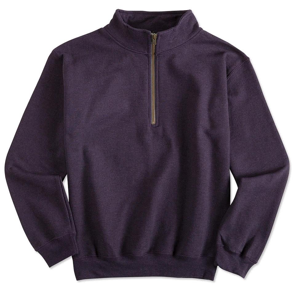ff88fb14804 Custom Design Half Zip Sweatshirt - Cotswold Hire