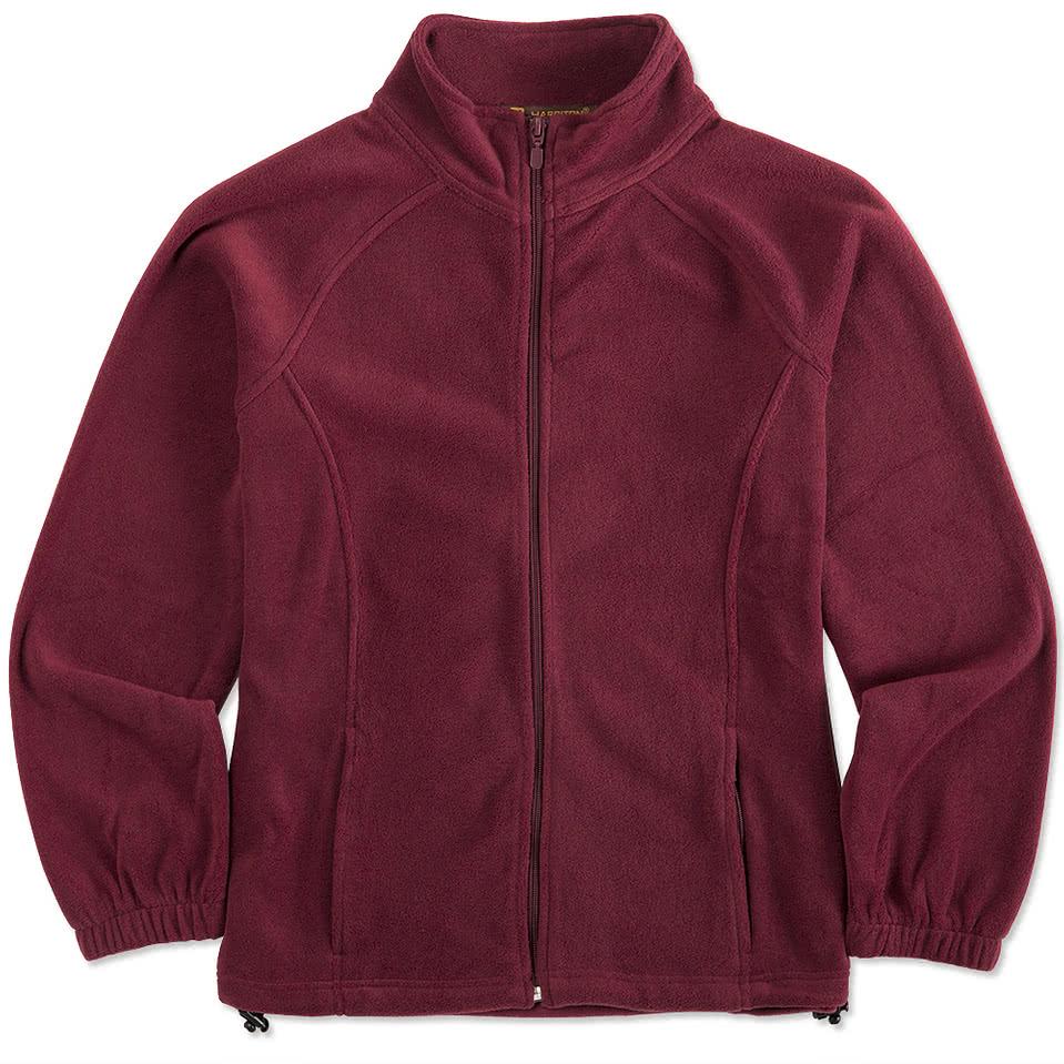 Harriton Ladies Full-Zip Fleece Jacket