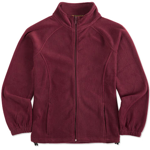 Harriton Ladies Full-Zip Fleece Jacket