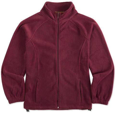 Harriton Women's Full Zip Fleece Jacket