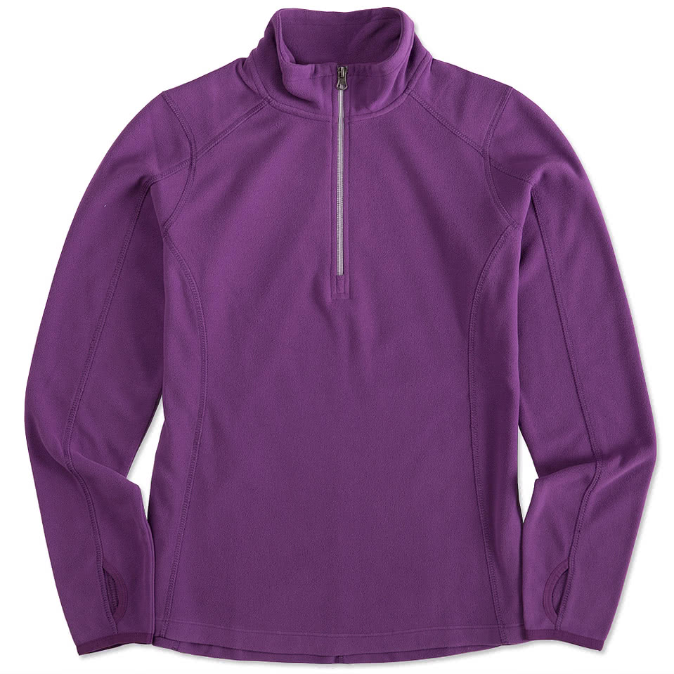 Port Authority Ladies 1/4-Zip Microfleece Pullover