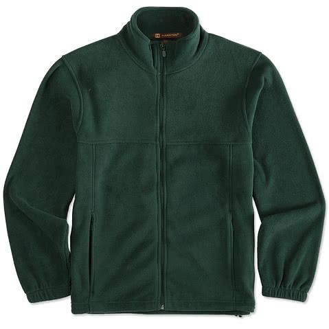 Harriton Full Zip Fleece Jacket
