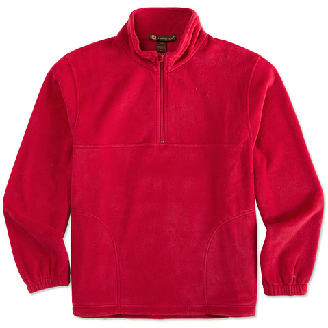 Harriton 1/4-Zip Fleece Pullover