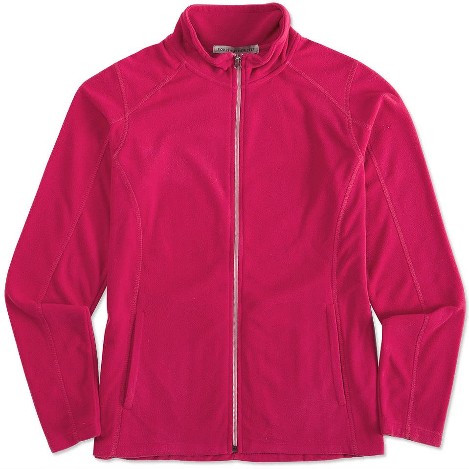 Port Authority Ladies Full-Zip Microfleece Jacket