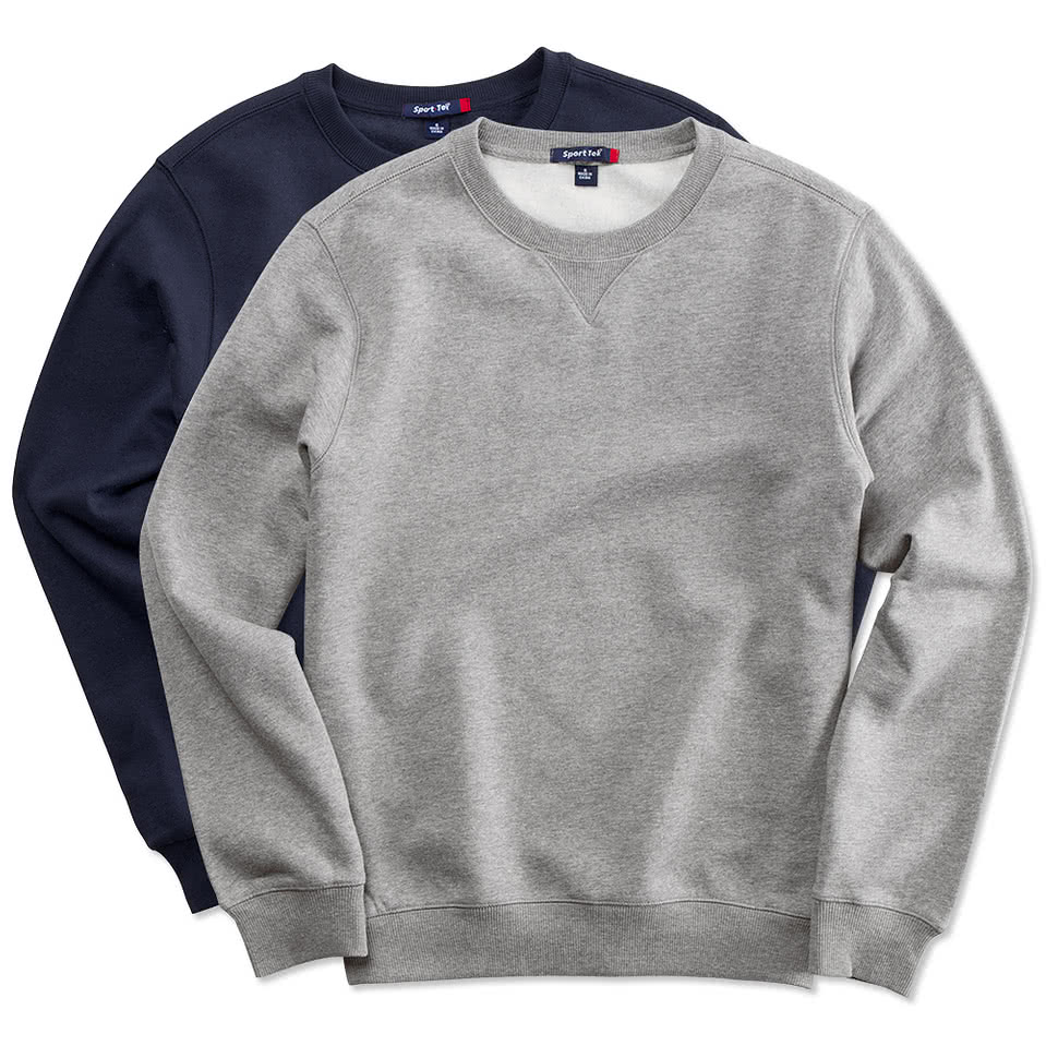 Custom Crew Neck Sweatshirts No Minimum