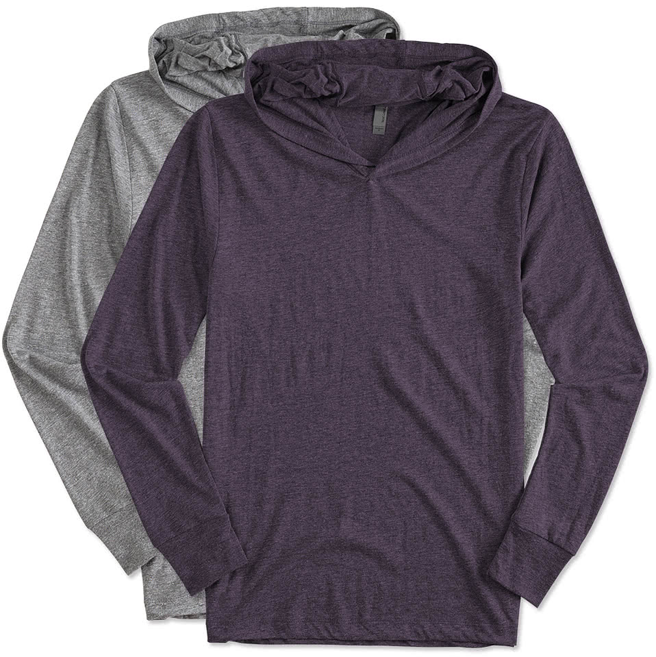 Next Level Tri-Blend Long Sleeve Hoodie