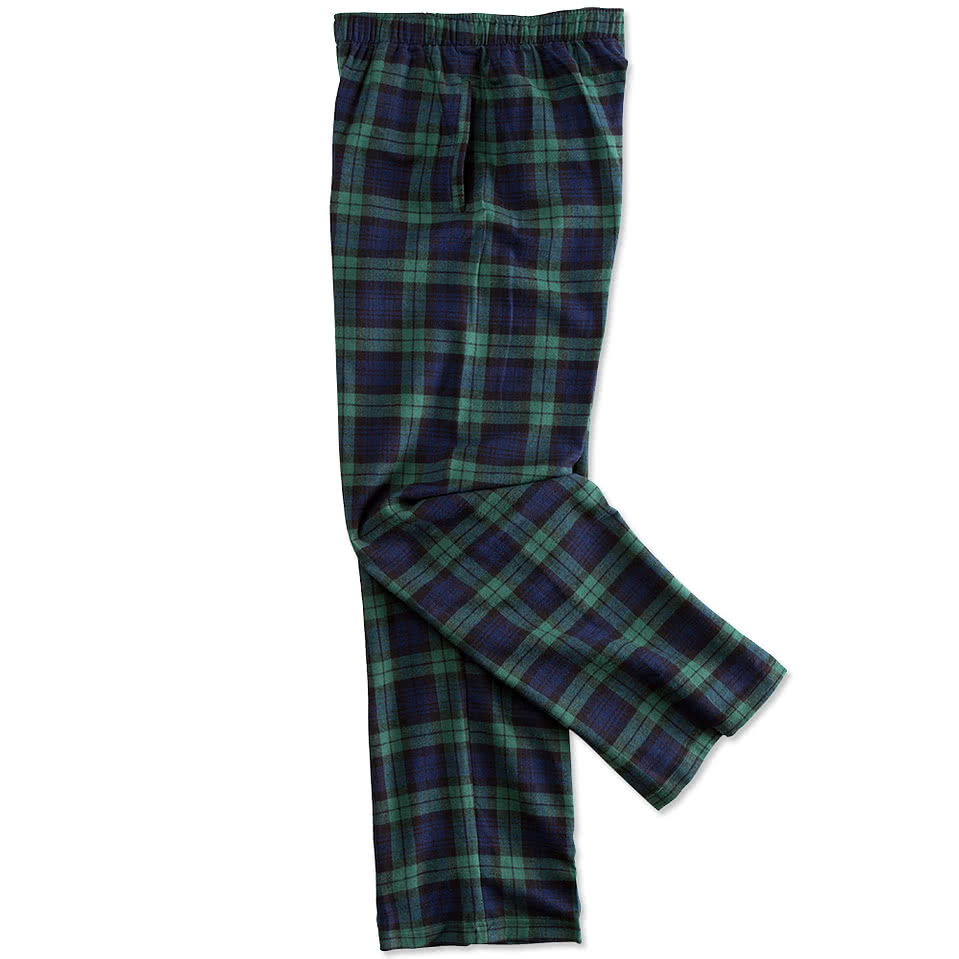 222ede17f8 Custom Pajamas - Design Personalized Plaid Cotton Flannel Pajama Pants