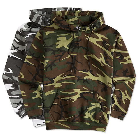 Code 5 Camo Hooded Sweatshirt