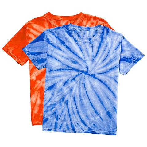Dyenomite Youth 100% Cotton Tonal Tie-Dye T-shirt