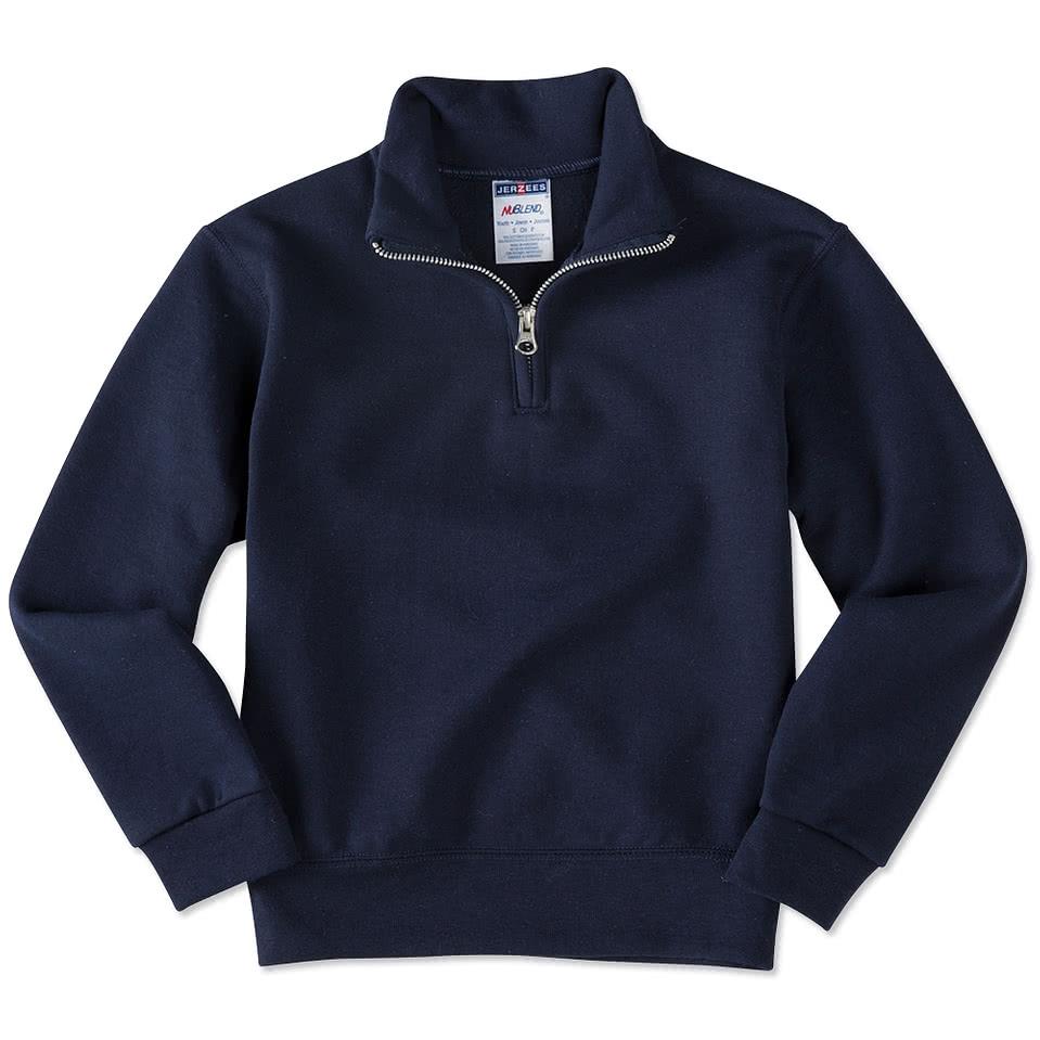 Jerzees Youth Lightweight 1/4 Zip Sweatshirt