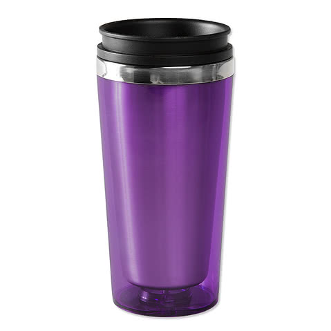 16 oz. Steel City Insulated Travel Mug