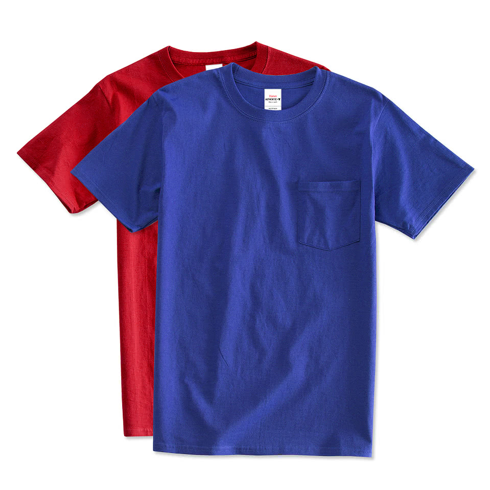 Custom Pocket T Shirts Design Printed Pocket T Shirts Online