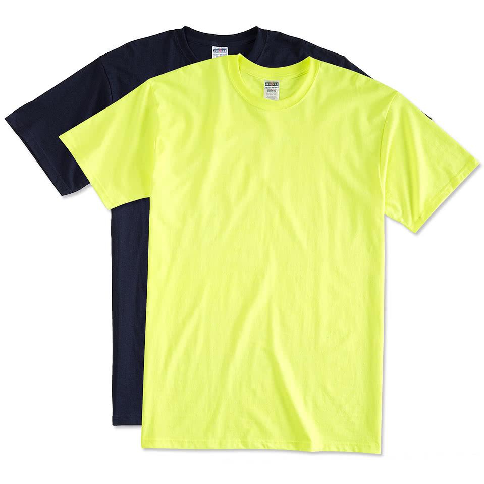 Shirt design online australia - Jerzees 50 50 Tall T Shirt