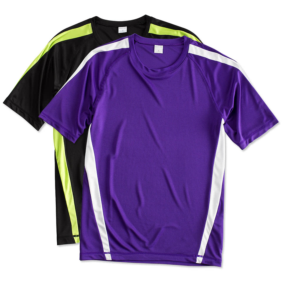 Design t shirt netball - Sport Tek Competitor Colorblock Performance Shirt