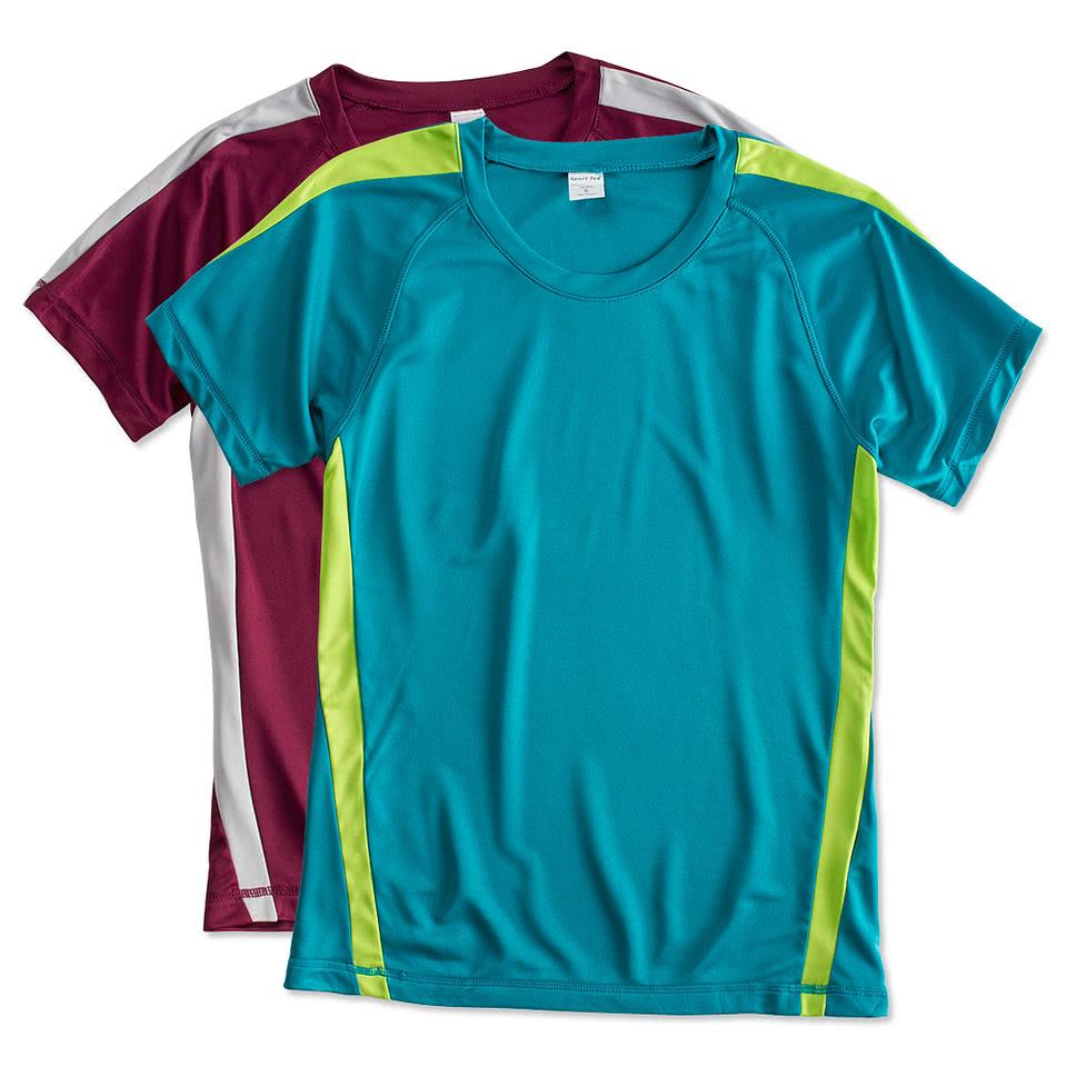 Sport-Tek Ladies Competitor Colorblock Performance Shirt