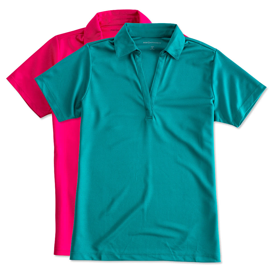 328c6a2f6 Port Authority Women's Silk Touch Performance Polo - Screen Printed