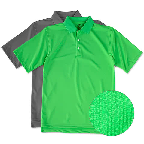 Performance polo shirts custom design dri fit and for Custom dry fit polo shirts