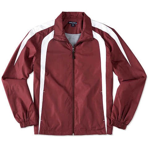 Sport-Tek Full-Zip Colorblock Warm-Up Jacket