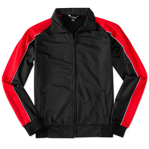Sport-Tek Piped Tricot Warm-Up Jacket