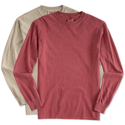 Comfort Colors 100% Cotton Long Sleeve Shirt