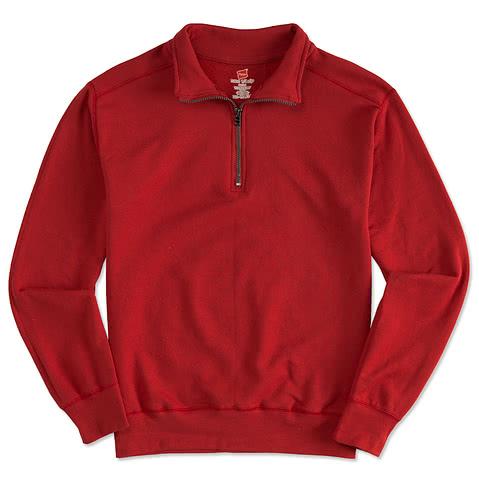Hanes Nano 1/4 Zip Sweatshirt