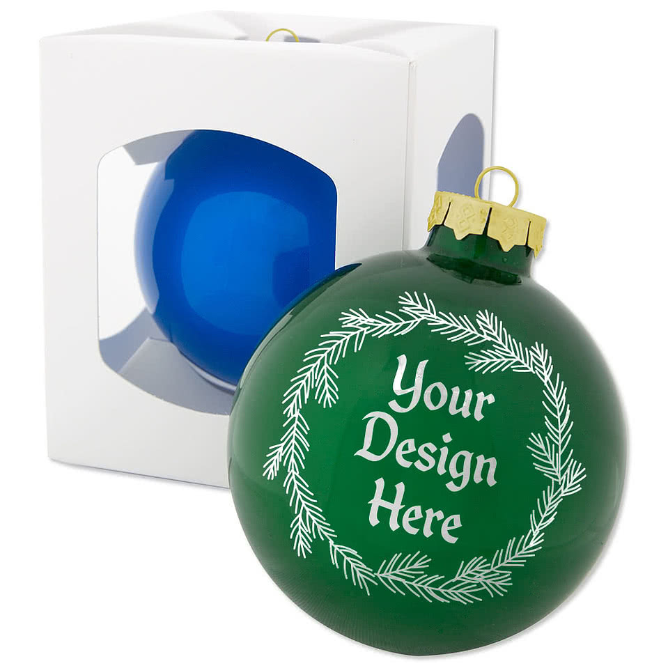 glass tree ornament