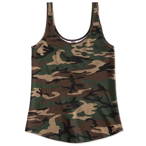 District Juniors Camo Tank