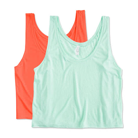 Bella Juniors Flowy Crop Tank