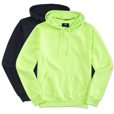J. America Cloud Soft Hooded Sweatshirt