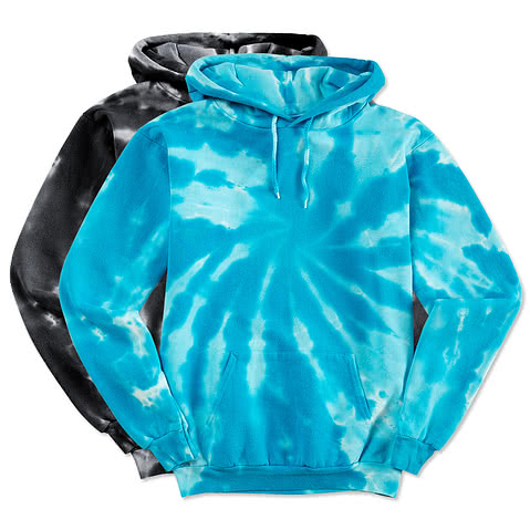 Port and Company Tie-Dye Hooded Sweatshirt