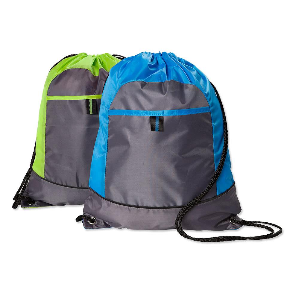 Drawstring Bags - Custom Drawstring Bags | Design Your Own