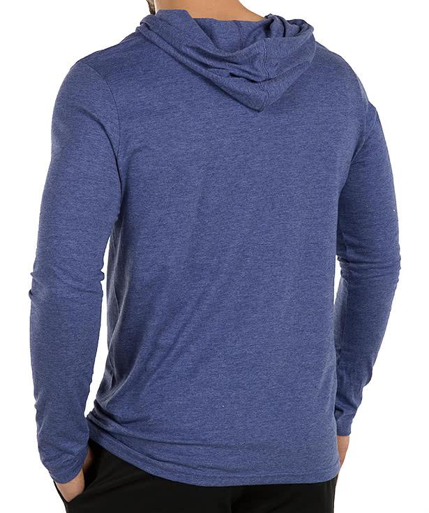 Custom Anvil Hooded Long Sleeve T-shirt - Design Long Sleeve T ...