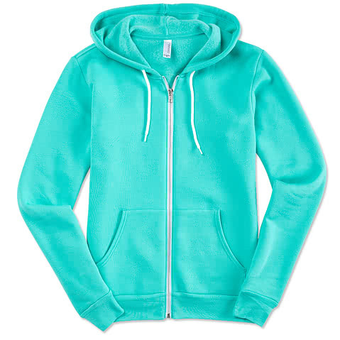 Bella + Canvas Ultra Soft Zip Hoodie