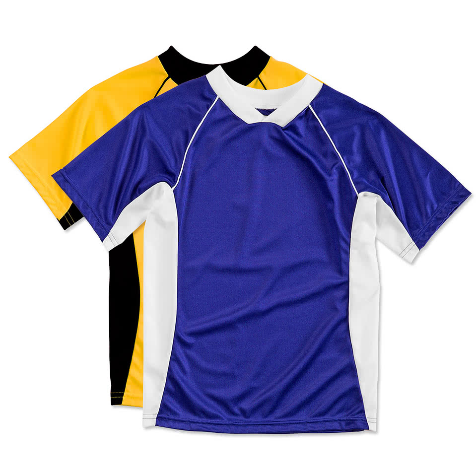 Augusta Youth Colorblock Performance Soccer Jersey