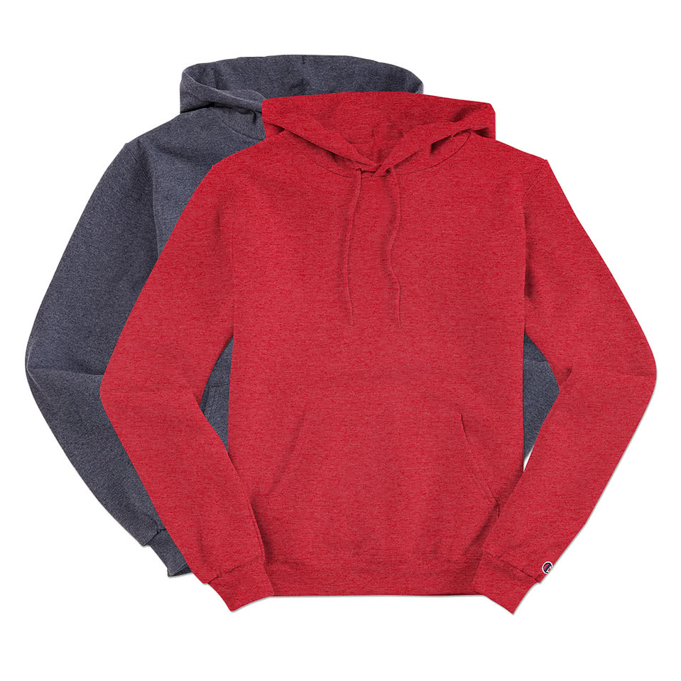Custom Champion 50/50 Eco Hooded Sweatshirt - Design Hoodies ...