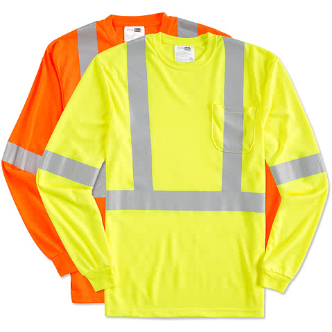 CornerStone Long Sleeve Performance Safety Shirt
