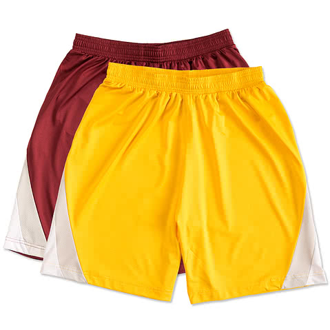 Team 365 Colorblock Performance Shorts