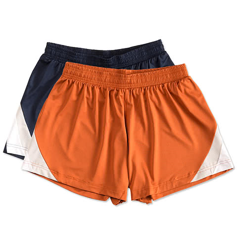 Team 365 Ladies Colorblock Performance Shorts