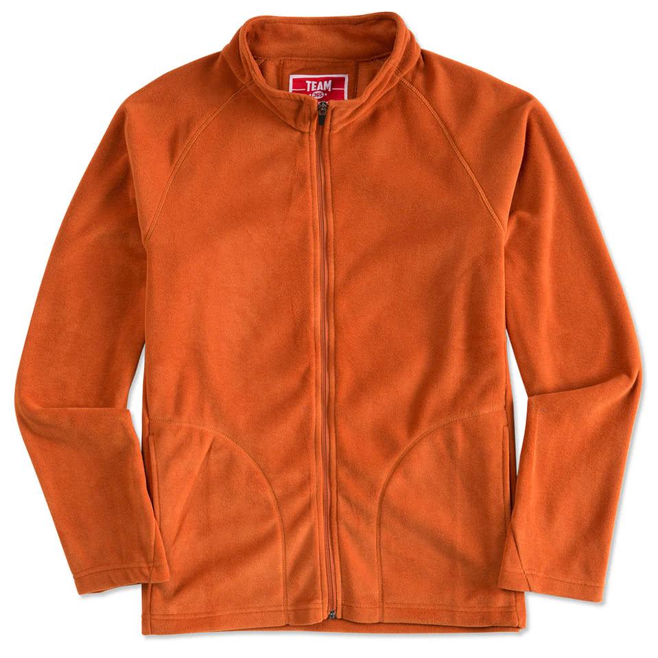 Custom Team 365 Full-Zip Microfleece Jacket - Design Fleece