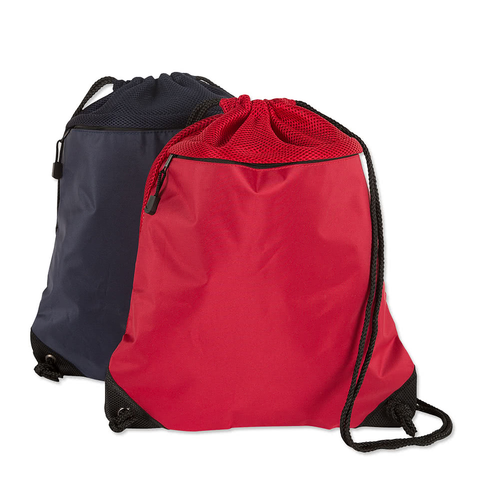 Personalized Backpacks – Custom Drawstring Backpacks and Cinch Bags