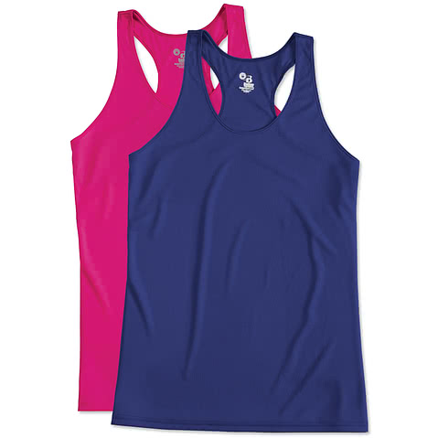 Badger Ladies Performance Racerback Tank
