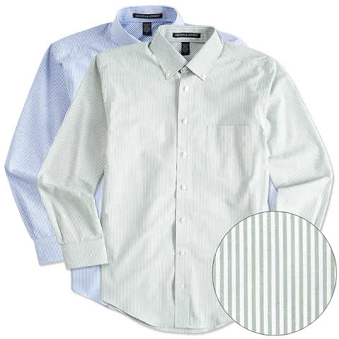 Devon & Jones Banker Stripe Dress Shirt