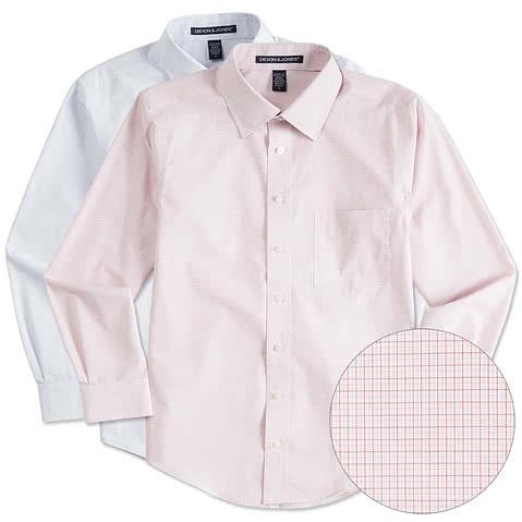 Devon & Jones Tattersall Dress Shirt