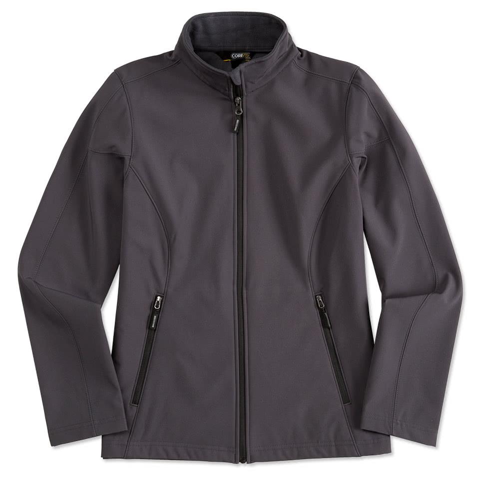 Custom Core 365 Ladies Fleece Lined Soft Shell Jacket - Design ...