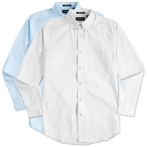 Ultra Club Easy Care Broadcloth Dress Shirt