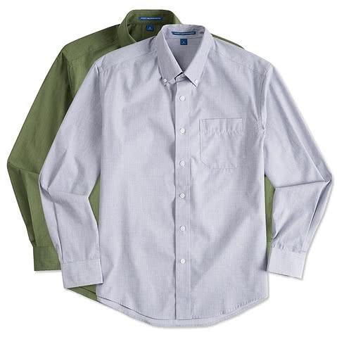 Port Authority Crosshatch Dress Shirt
