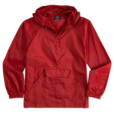 Ultra Club 1/4 Zip Hooded Packable Jacket